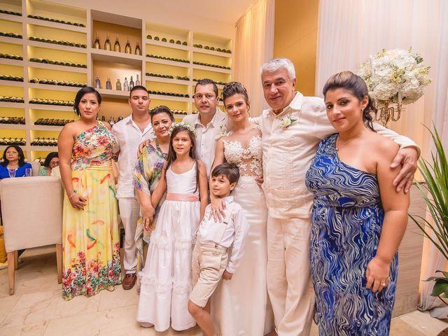 El matrimonio de Edgard y Paola en Cartagena, Bolívar 25