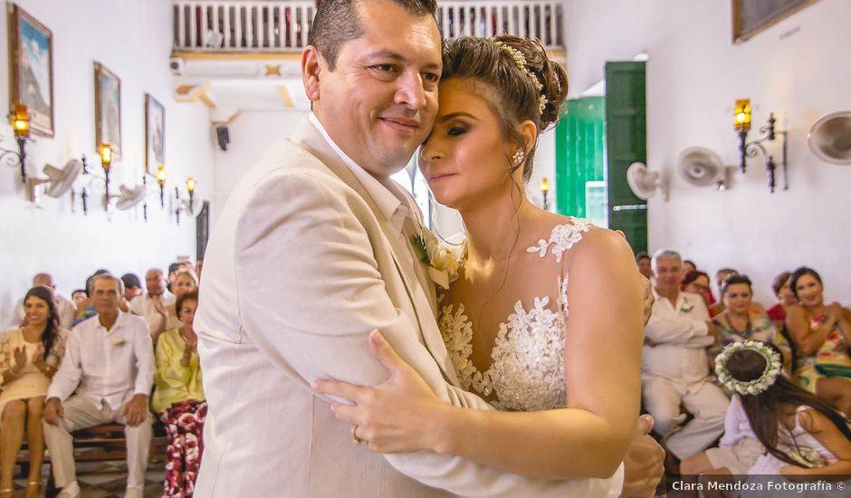 El matrimonio de Edgard y Paola en Cartagena, Bolívar