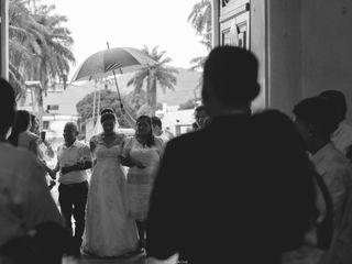 El matrimonio de Edna y Julian 3