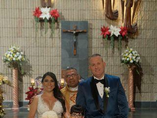 El matrimonio de Viviana  y Jason 1