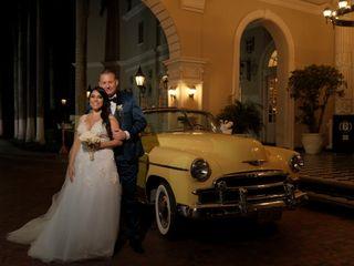 El matrimonio de Viviana  y Jason