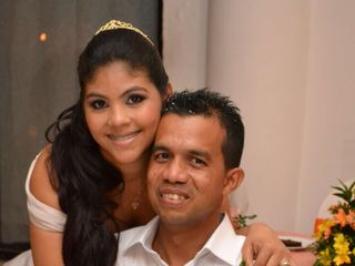 El matrimonio de Eliana y Fabian