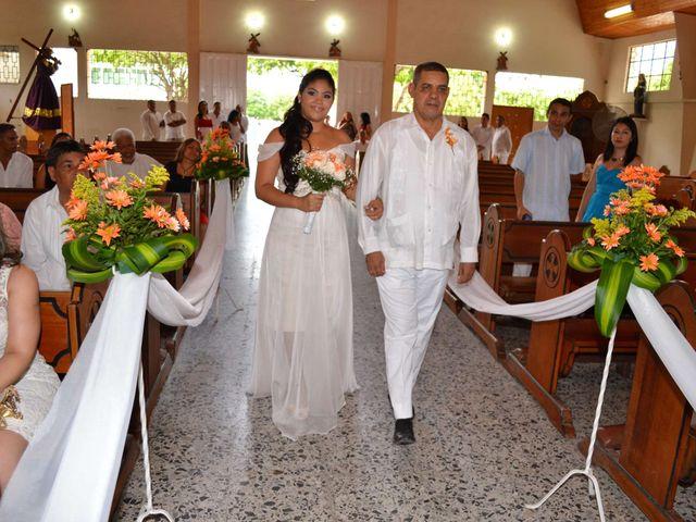 El matrimonio de Fabian y Eliana en Santa Marta, Magdalena 10