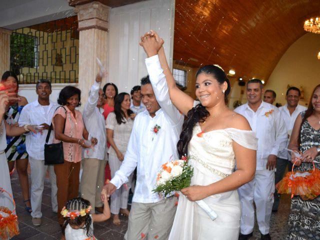 El matrimonio de Fabian y Eliana en Santa Marta, Magdalena 1