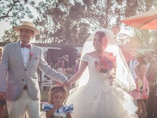El matrimonio de Alexa y Manuel