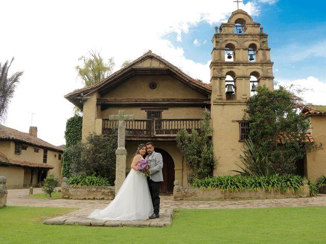 El matrimonio de Jhonatan  y Sandra en Chía, Cundinamarca 2