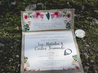 El matrimonio de Iris Natalia y Carlos 1