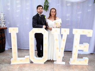 El matrimonio de Alejandra y Santiago