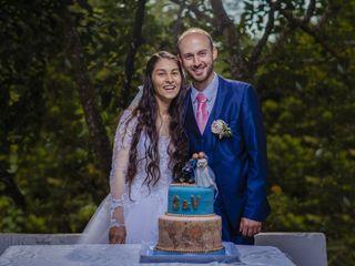 El matrimonio de Gerson y Valentina