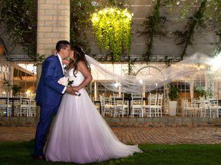 El matrimonio de Angélica y Eduar