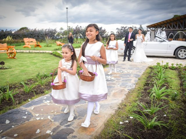El matrimonio de Carlos y Paula en Subachoque, Cundinamarca 15