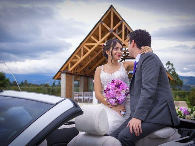 El matrimonio de Carlos y Paula en Subachoque, Cundinamarca 18