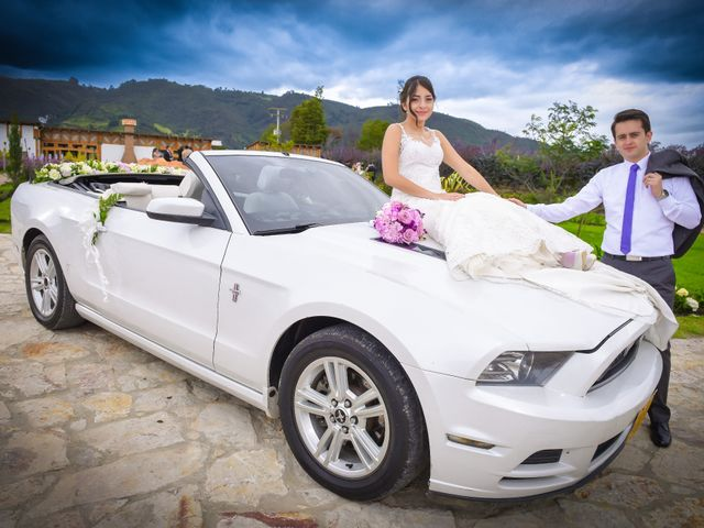 El matrimonio de Carlos y Paula en Subachoque, Cundinamarca 24