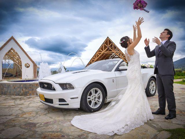 El matrimonio de Carlos y Paula en Subachoque, Cundinamarca 25