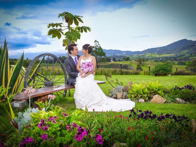 El matrimonio de Carlos y Paula en Subachoque, Cundinamarca 33