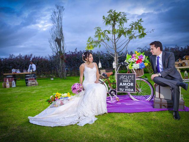 El matrimonio de Carlos y Paula en Subachoque, Cundinamarca 39