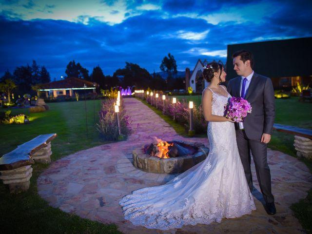 El matrimonio de Carlos y Paula en Subachoque, Cundinamarca 41