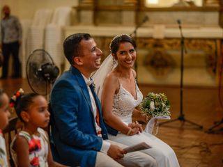 El matrimonio de Andrea y Salomón 2