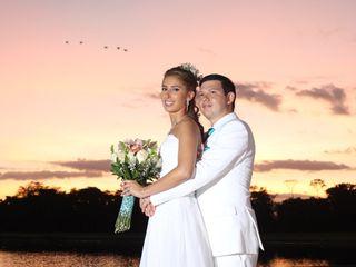 El matrimonio de Grace y Andrés