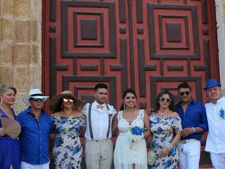 El matrimonio de Erika y Manuel 2