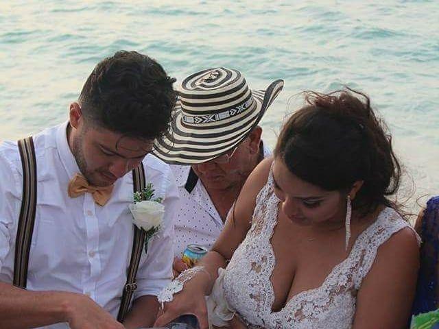 El matrimonio de Manuel y Erika en Cartagena, Bolívar 3