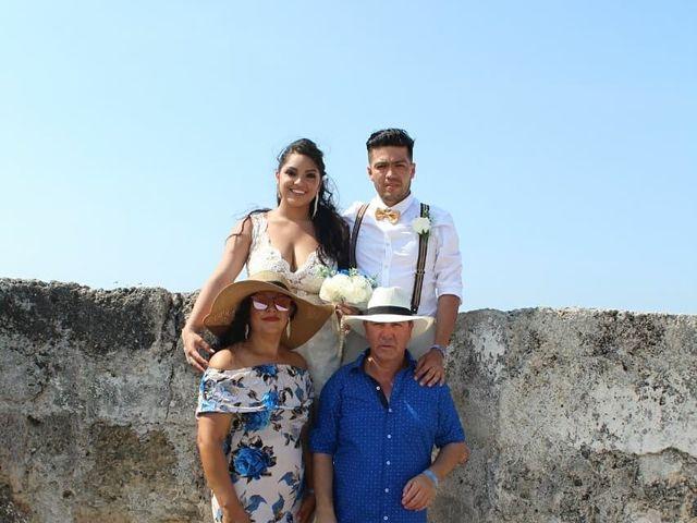 El matrimonio de Manuel y Erika en Cartagena, Bolívar 5