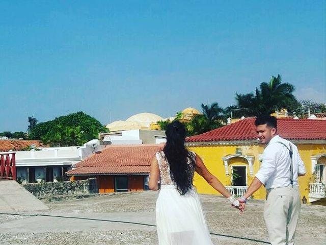 El matrimonio de Manuel y Erika en Cartagena, Bolívar 7
