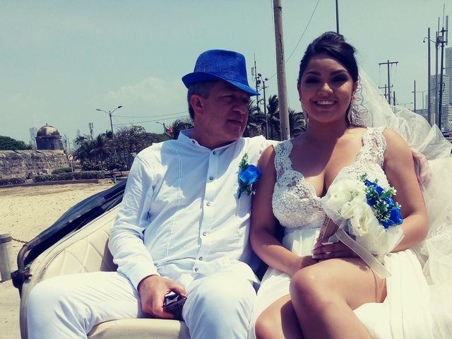 El matrimonio de Manuel y Erika en Cartagena, Bolívar 9