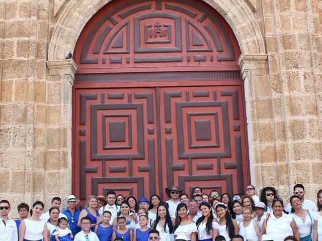 El matrimonio de Manuel y Erika en Cartagena, Bolívar 13