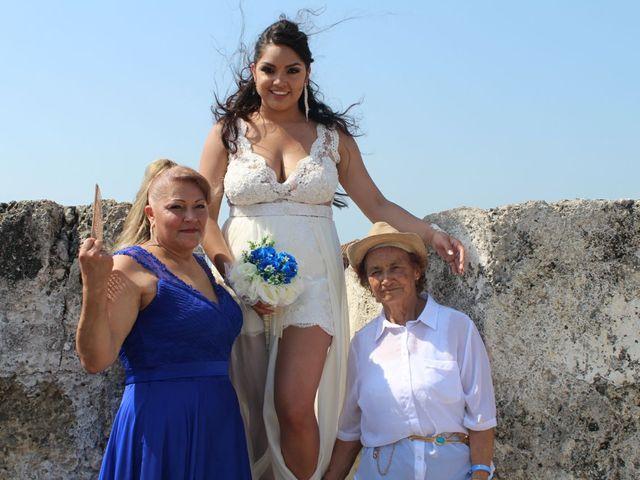 El matrimonio de Manuel y Erika en Cartagena, Bolívar 1