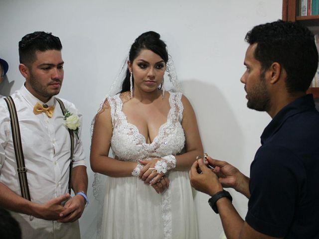 El matrimonio de Manuel y Erika en Cartagena, Bolívar 17