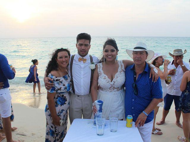 El matrimonio de Manuel y Erika en Cartagena, Bolívar 18