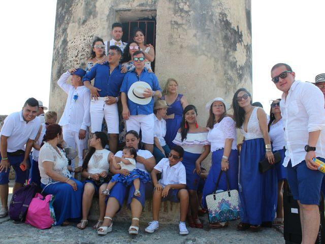 El matrimonio de Manuel y Erika en Cartagena, Bolívar 20