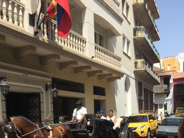 El matrimonio de Manuel y Erika en Cartagena, Bolívar 22