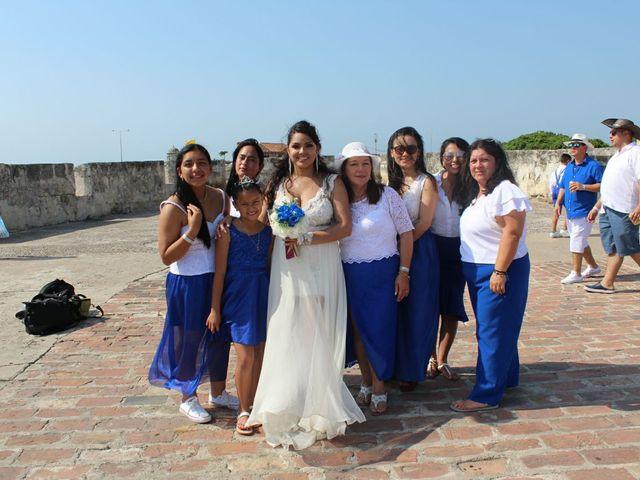 El matrimonio de Manuel y Erika en Cartagena, Bolívar 35