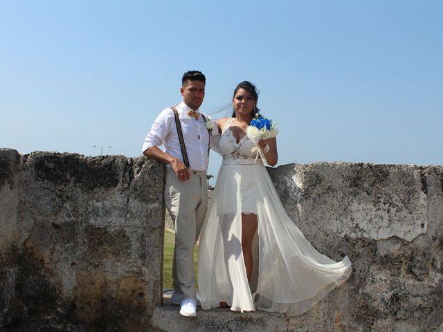 El matrimonio de Manuel y Erika en Cartagena, Bolívar 36