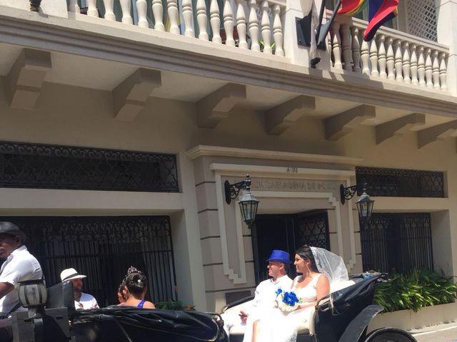 El matrimonio de Manuel y Erika en Cartagena, Bolívar 42