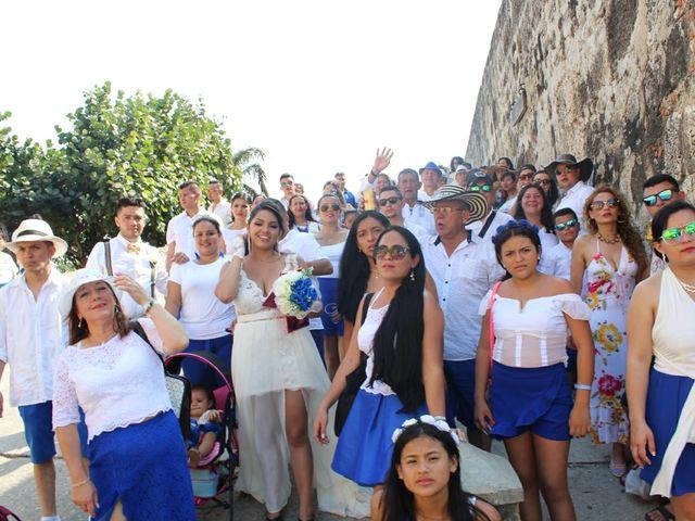 El matrimonio de Manuel y Erika en Cartagena, Bolívar 51