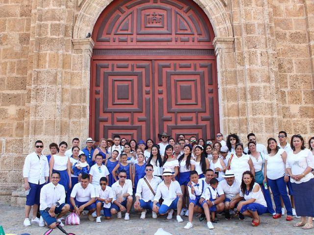 El matrimonio de Manuel y Erika en Cartagena, Bolívar 76