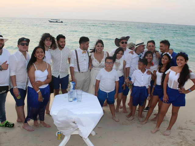 El matrimonio de Manuel y Erika en Cartagena, Bolívar 87