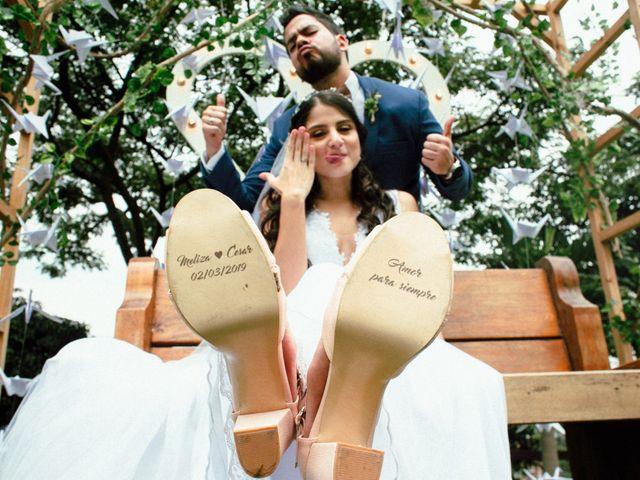 El matrimonio de César y Melissa en Medellín, Antioquia 40