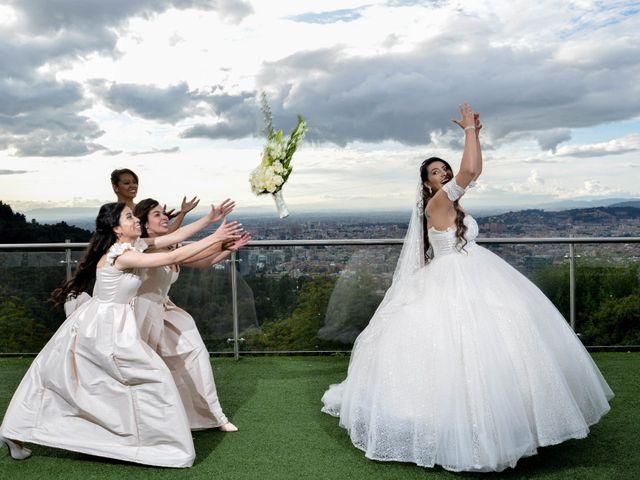 El matrimonio de Angi y Jorge en Bogotá, Bogotá DC 22