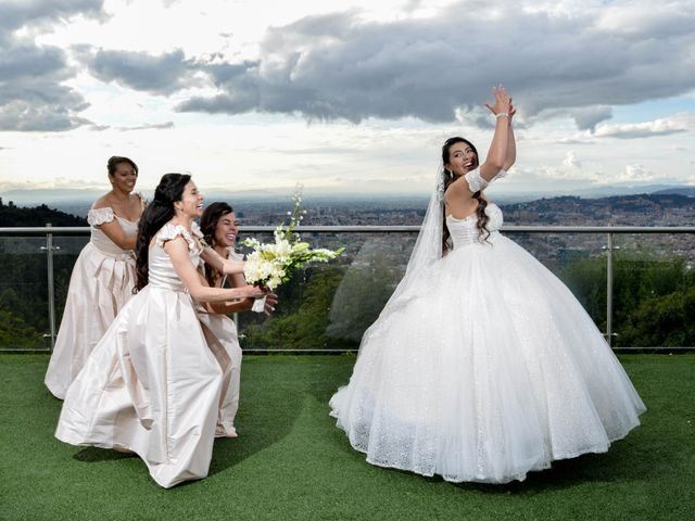 El matrimonio de Angi y Jorge en Bogotá, Bogotá DC 23