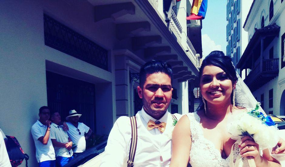 El matrimonio de Manuel y Erika en Cartagena, Bolívar
