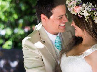 El matrimonio de Carolina y Andrés