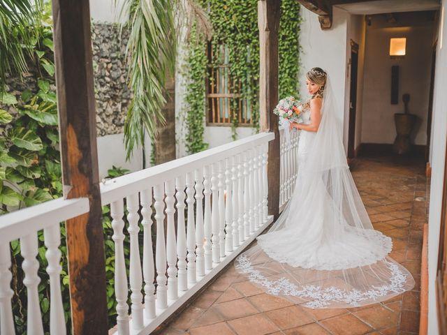 El matrimonio de Óscar y Dianis en Cartagena, Bolívar 1