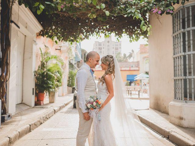 El matrimonio de Óscar y Dianis en Cartagena, Bolívar 3