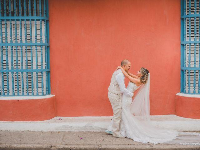 El matrimonio de Óscar y Dianis en Cartagena, Bolívar 5