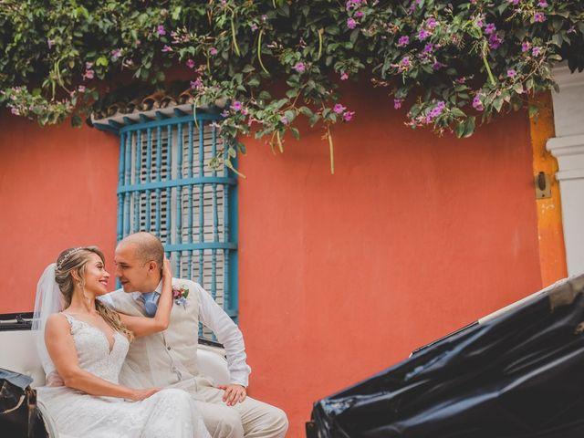 El matrimonio de Óscar y Dianis en Cartagena, Bolívar 6