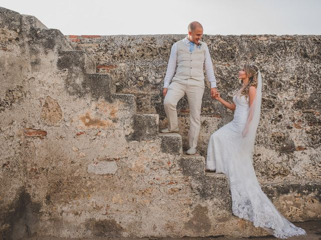 El matrimonio de Óscar y Dianis en Cartagena, Bolívar 9